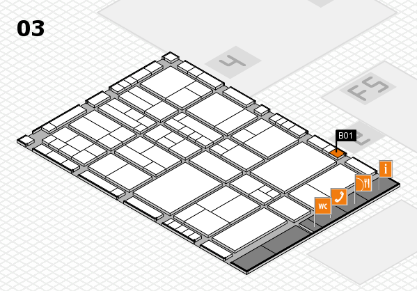 interpack 2017 hall map (Hall 3): stand B01