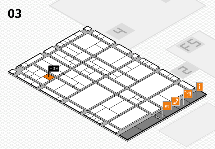 interpack 2017 hall map (Hall 3): stand E39