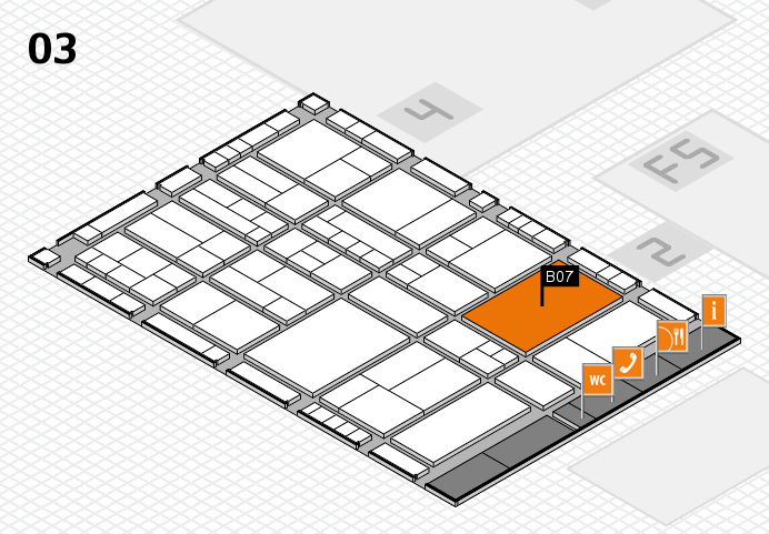 interpack 2017 hall map (Hall 3): stand B07