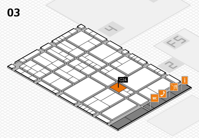 interpack 2017 hall map (Hall 3): stand C24