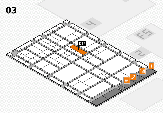 interpack 2017 hall map (Hall 3): stand D17