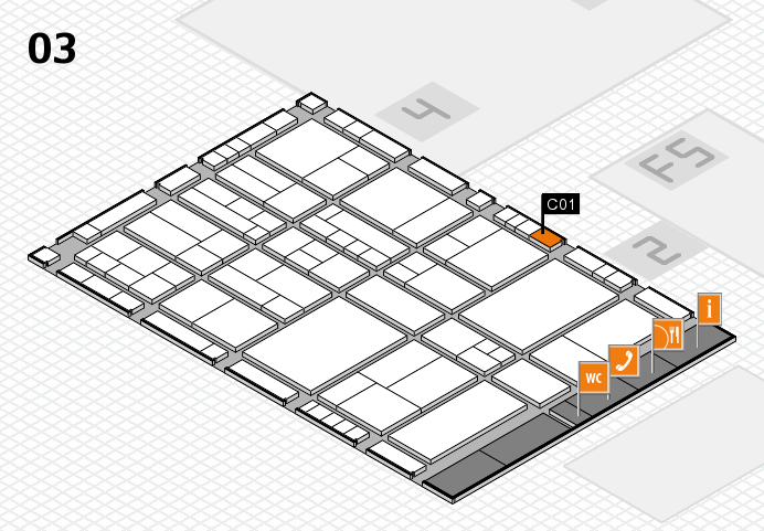 interpack 2017 hall map (Hall 3): stand C01