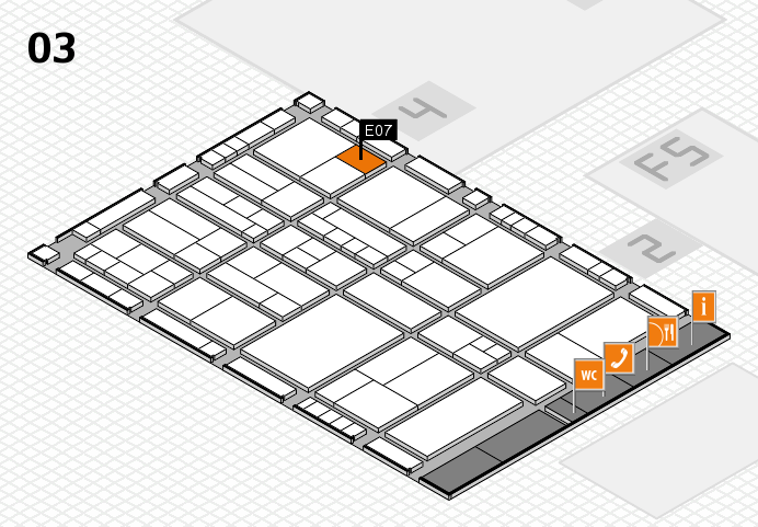 interpack 2017 hall map (Hall 3): stand E07