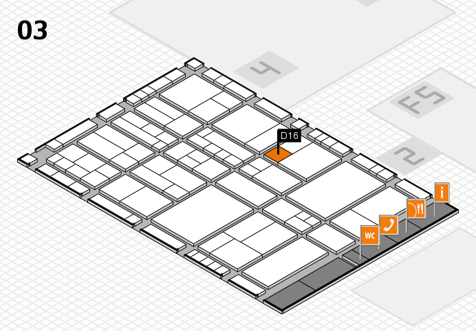 interpack 2017 hall map (Hall 3): stand D16