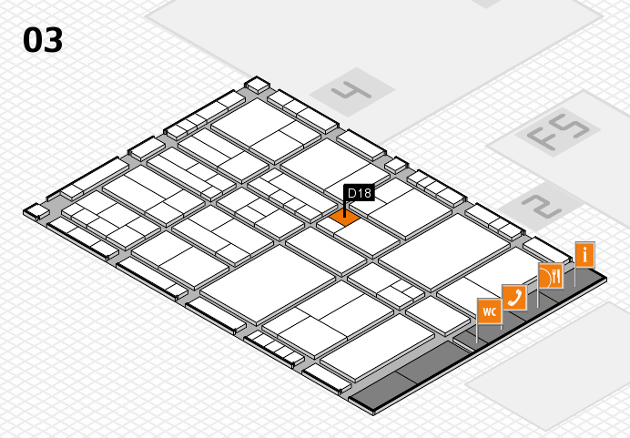 interpack 2017 hall map (Hall 3): stand D18