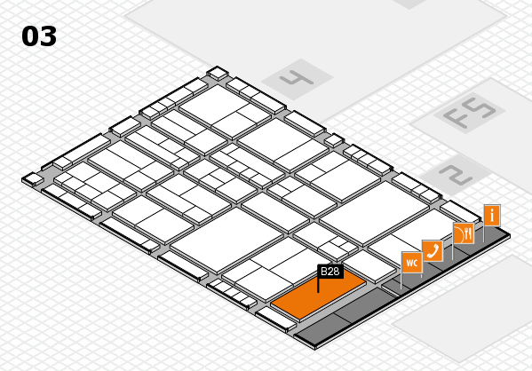 interpack 2017 hall map (Hall 3): stand B28