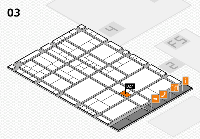 interpack 2017 hall map (Hall 3): stand B27