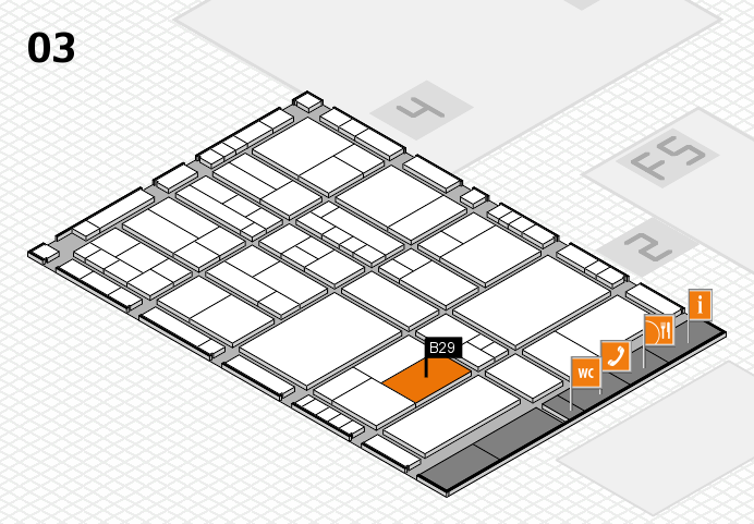 interpack 2017 hall map (Hall 3): stand B29