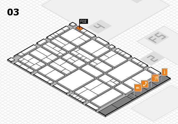 interpack 2017 hall map (Hall 3): stand F02