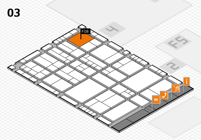 interpack 2017 hall map (Hall 3): stand F08