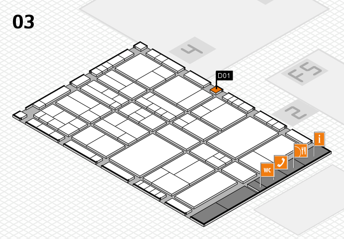 interpack 2017 hall map (Hall 3): stand D01