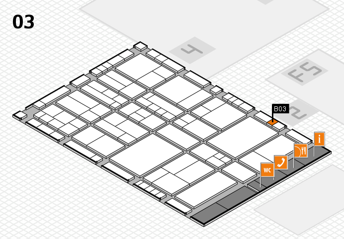 interpack 2017 hall map (Hall 3): stand B03