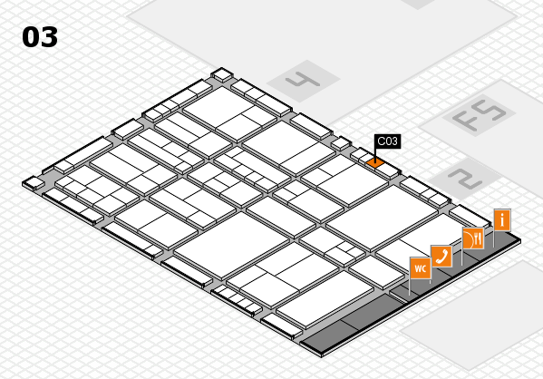 interpack 2017 hall map (Hall 3): stand C03