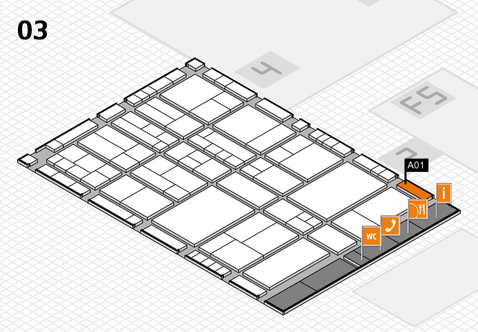 interpack 2017 hall map (Hall 3): stand A01