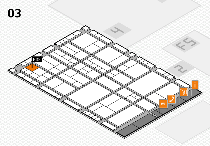 interpack 2017 hall map (Hall 3): stand F38