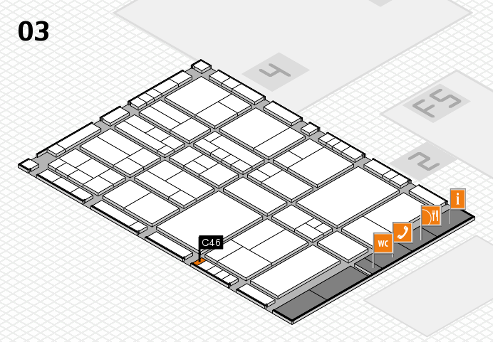 interpack 2017 hall map (Hall 3): stand C46