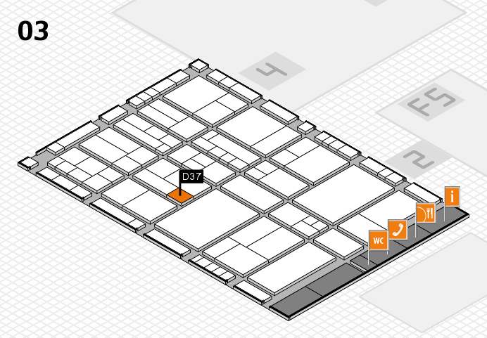 interpack 2017 hall map (Hall 3): stand D37