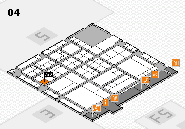 interpack 2017 hall map (Hall 4): stand A39