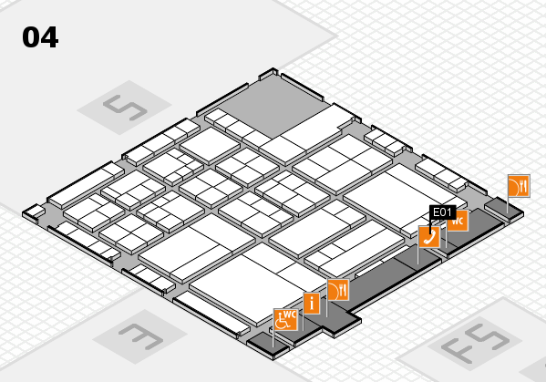 interpack 2017 hall map (Hall 4): stand E01