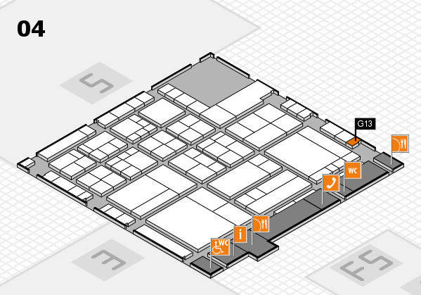 interpack 2017 hall map (Hall 4): stand G13