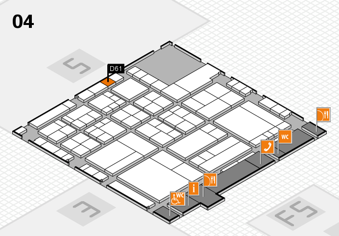 interpack 2017 hall map (Hall 4): stand D61