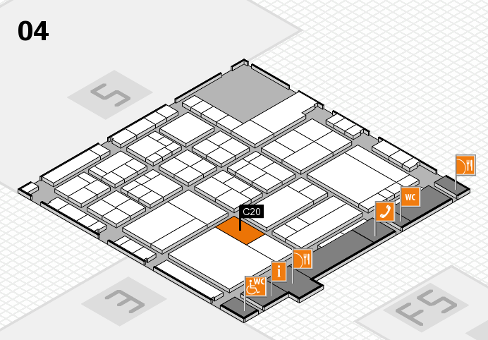 interpack 2017 hall map (Hall 4): stand C20