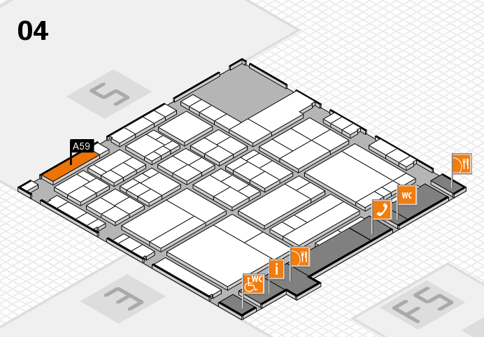 interpack 2017 hall map (Hall 4): stand A59