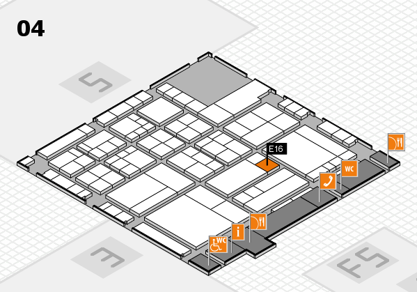 interpack 2017 hall map (Hall 4): stand E16