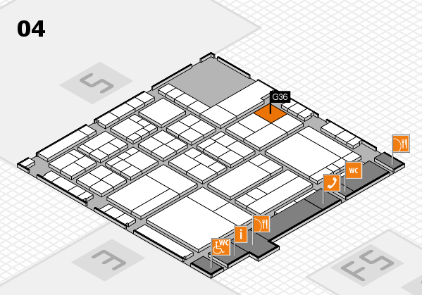 interpack 2017 hall map (Hall 4): stand G36