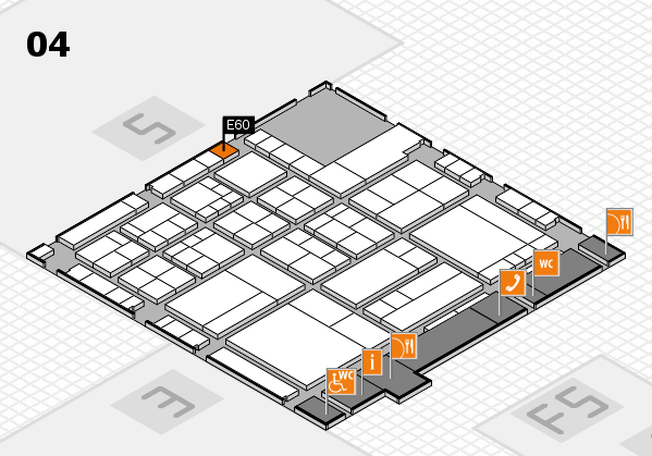interpack 2017 hall map (Hall 4): stand E60
