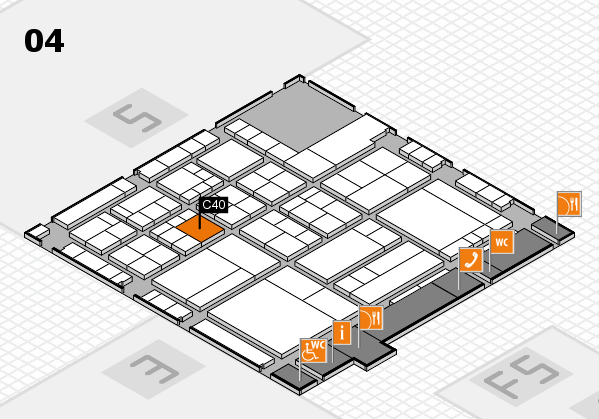 interpack 2017 hall map (Hall 4): stand C40