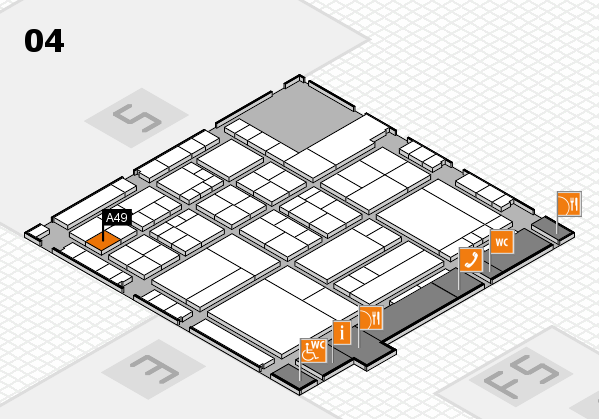 interpack 2017 hall map (Hall 4): stand A49