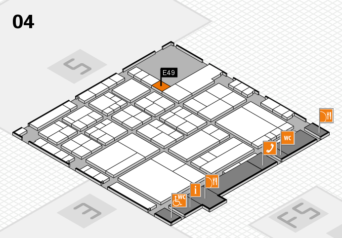 interpack 2017 hall map (Hall 4): stand E49
