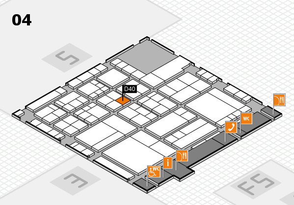 interpack 2017 hall map (Hall 4): stand D40