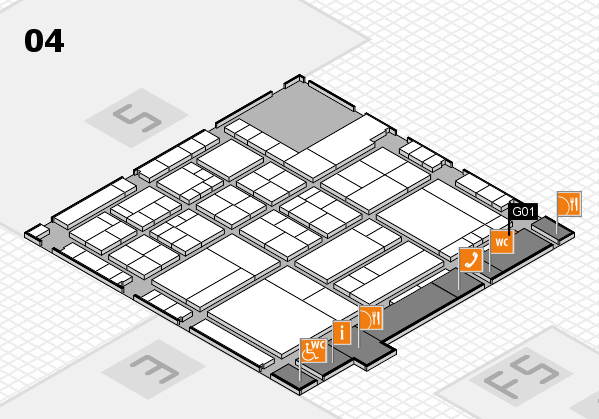 interpack 2017 hall map (Hall 4): stand G01
