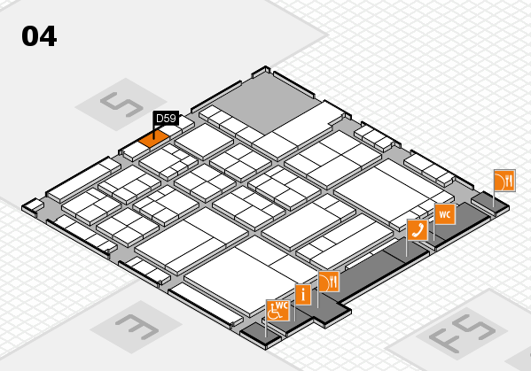 interpack 2017 hall map (Hall 4): stand D59