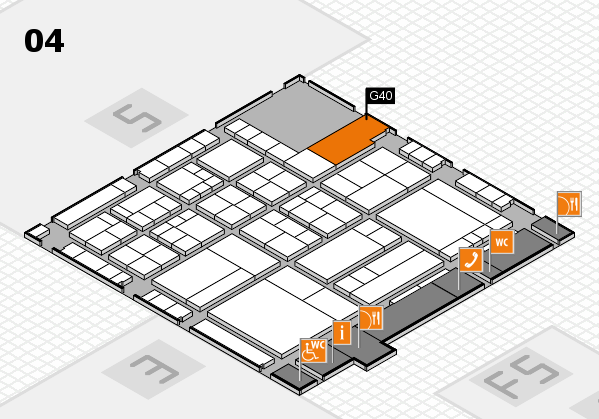 interpack 2017 hall map (Hall 4): stand G40