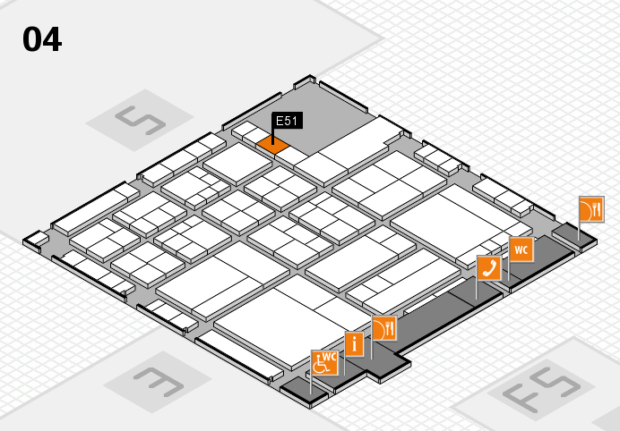 interpack 2017 hall map (Hall 4): stand E51