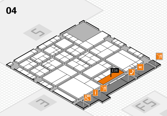 interpack 2017 hall map (Hall 4): stand E06