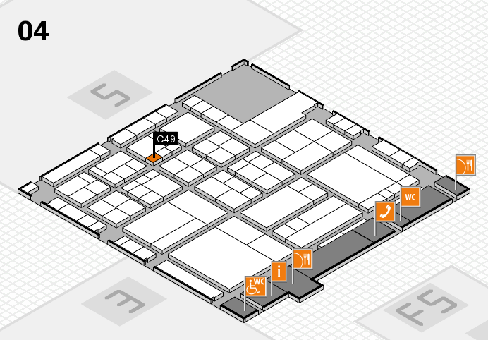 interpack 2017 hall map (Hall 4): stand C49