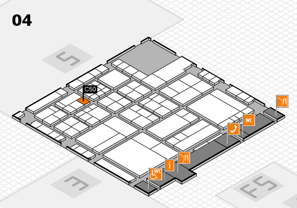 interpack 2017 hall map (Hall 4): stand C50