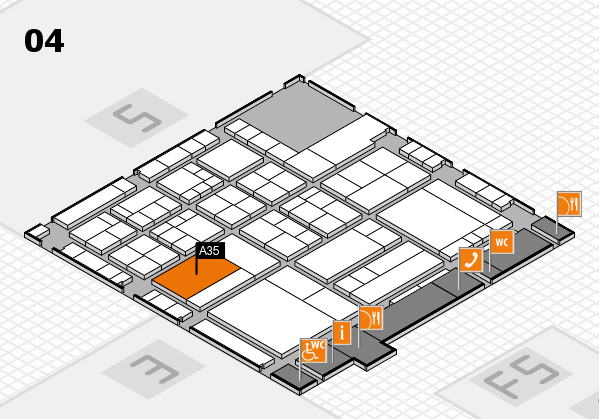 interpack 2017 hall map (Hall 4): stand A35