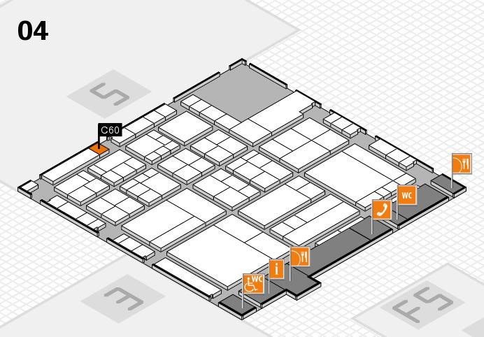interpack 2017 Hallenplan (Halle 4): Stand C60