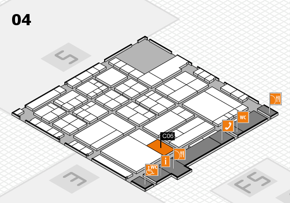 interpack 2017 hall map (Hall 4): stand C06