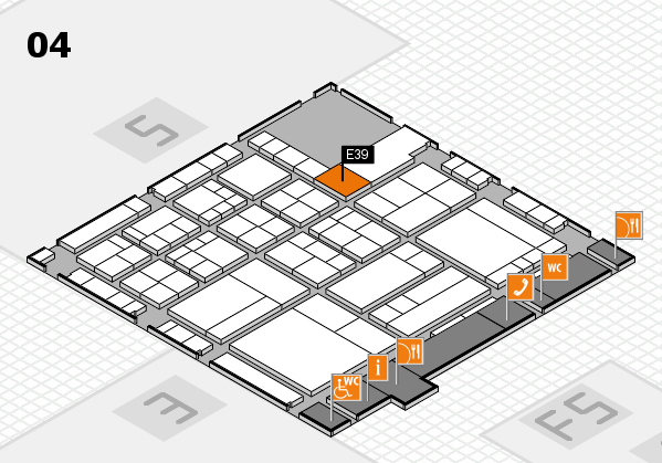 interpack 2017 hall map (Hall 4): stand E39