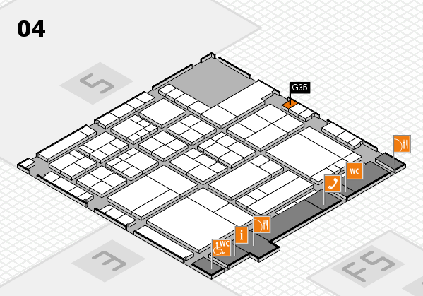 interpack 2017 hall map (Hall 4): stand G35