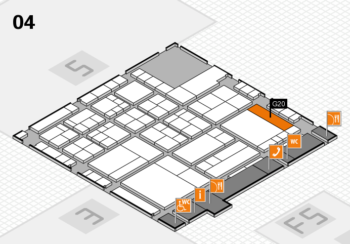 interpack 2017 hall map (Hall 4): stand G20