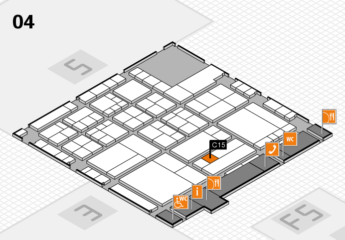 interpack 2017 hall map (Hall 4): stand C15