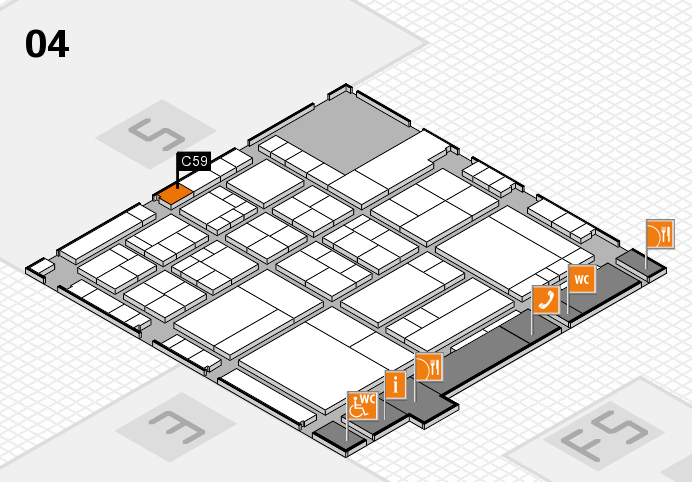 interpack 2017 hall map (Hall 4): stand C59