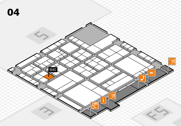 interpack 2017 hall map (Hall 4): stand B40